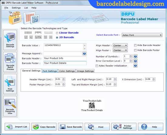Sistemas Para Código de Barras screenshot